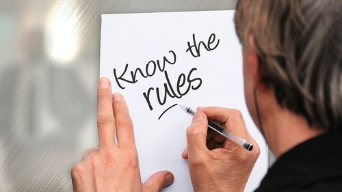 Know the Rules (C) Pixabay