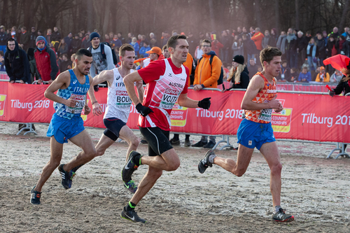 Andreas Vojta bei der Cross-EM 2018 in Tlburg