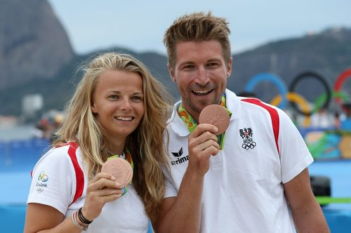 Tanja Frank und Thomas Zajac in Rio 2016 (C) GEPA Pictures