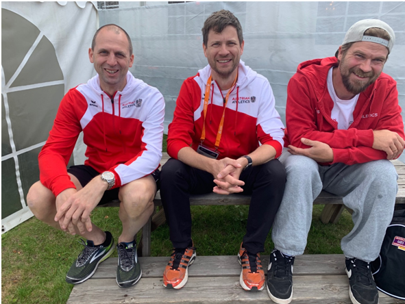 Das Medical-Team: Michael Drnek, Dr. Florian Wepner und Jan Siart-Jantzen