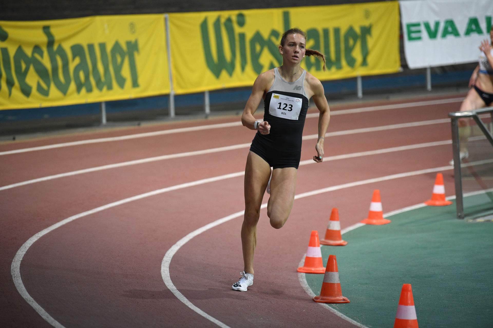 Femke Bol 400m World Lead at the ITFV 2021 (c) Alfred Nevsimal