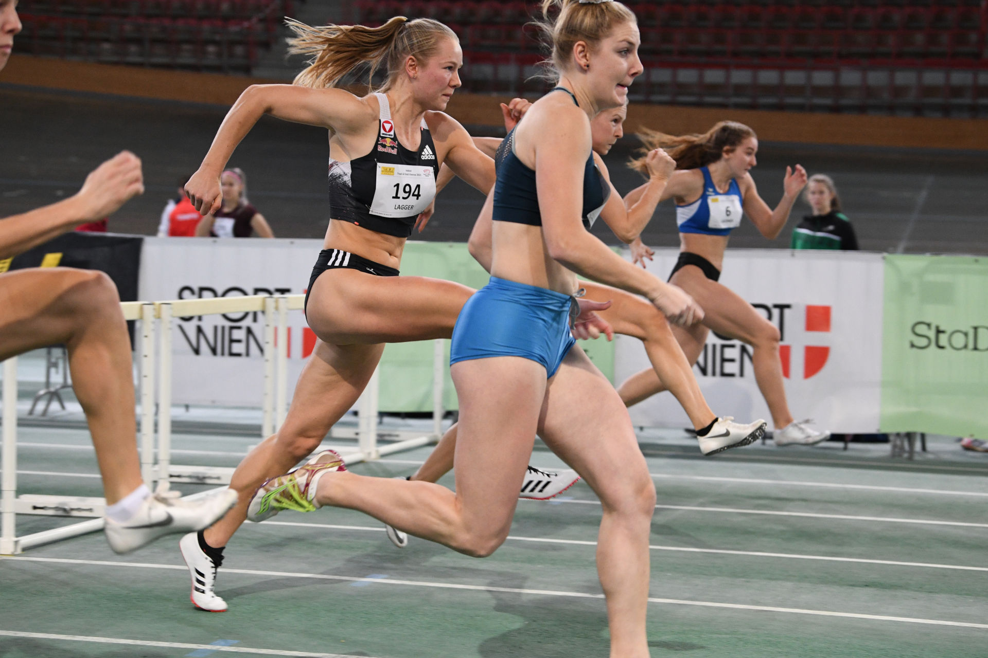 Sarah Lagger ITFV 2021 100mH - (c) ÖLV / Alfred Nevsimal