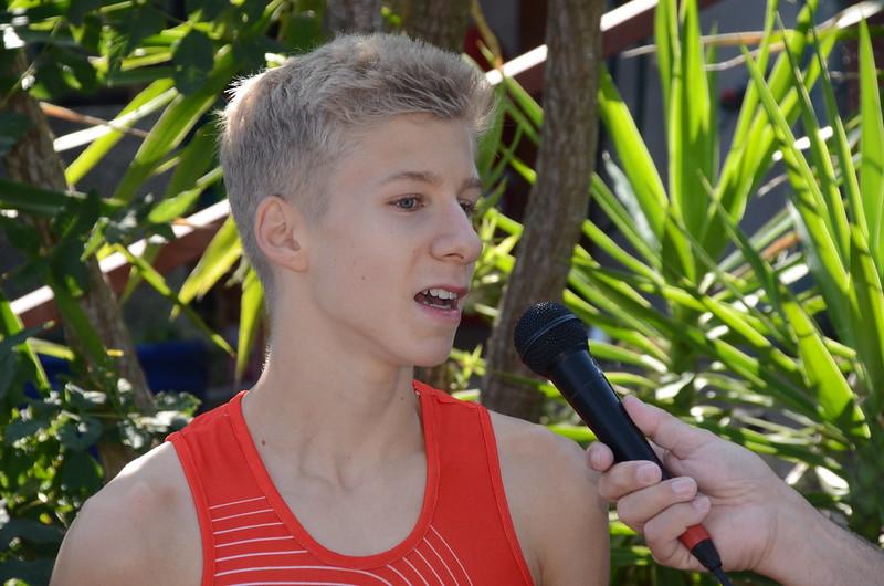 Emil Bezecny - Sieger des oelvrunning-Herbstcups