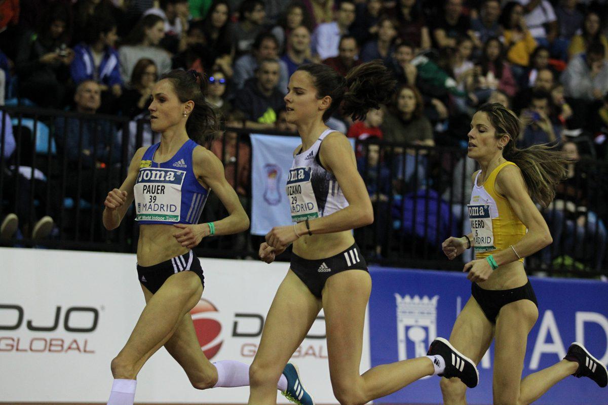 Nada Inda Pauer beim 3000m Lauf in Madrid (C) Jean Pierre Durand