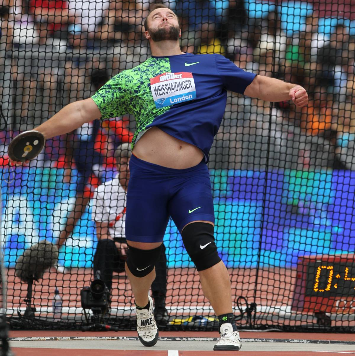 Lukas Weisshaidinger bei Diamond League Meeting in London (C) Jean Pierre Durand